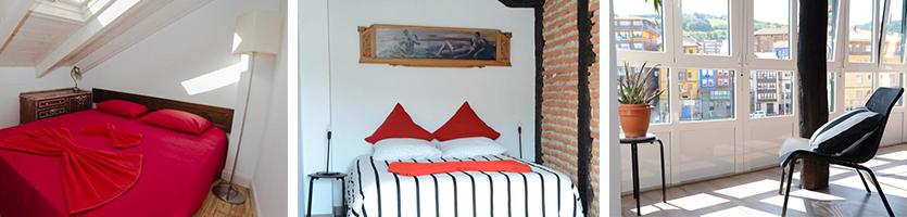 traditioneel appartement aan de haven bilbao spanje